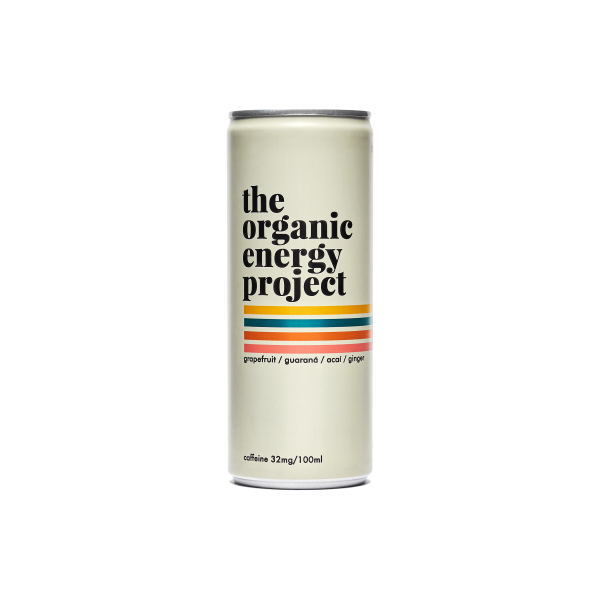 The Organic Energy Project - Grapefruit / Ginger / Acai, 250ml